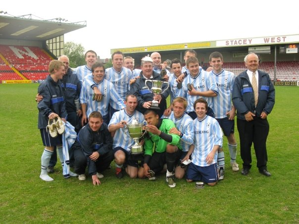 2008/09 Ron Eaglen & Kelly Read Cup Winners. County Cup Runners Up