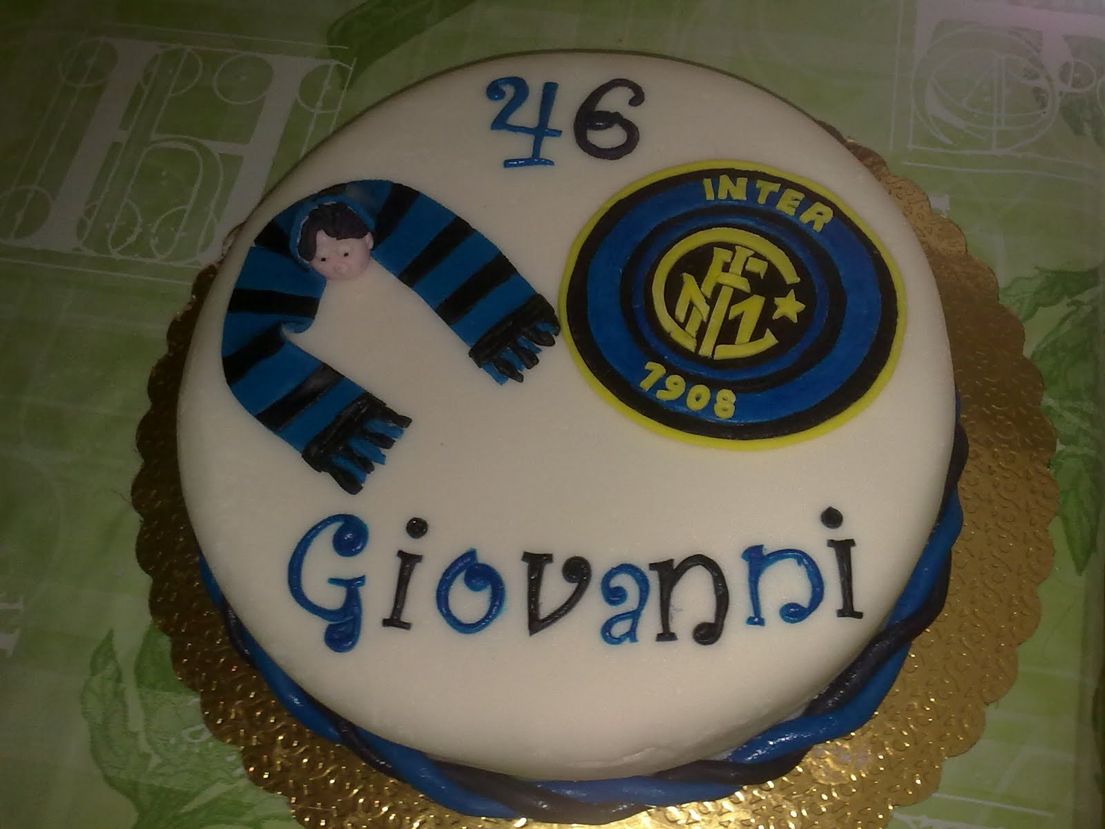 Favorito Dolce Candy : torta inter QT94
