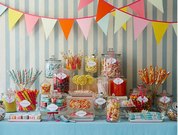 Think about having a candy bar or a buildyourownsundae station