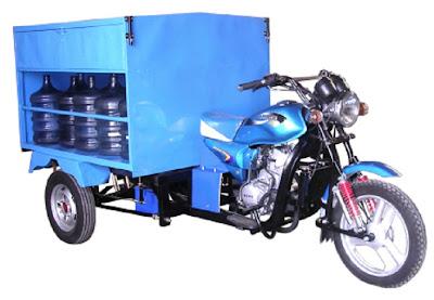 Motor roda tiga pilihan berbisnis
