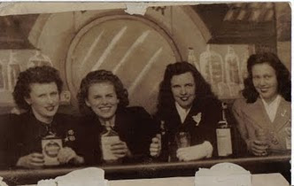 The Deegan Girls Out In Manhattan in the 1940's