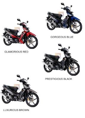 Pilihan Warna Honda Supra X 125 PGMF-1, Sepeda Motor Injeksi Irit Harga Terbaik Cuma HONDA