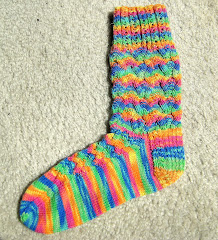 Love-Knot Socks, different view