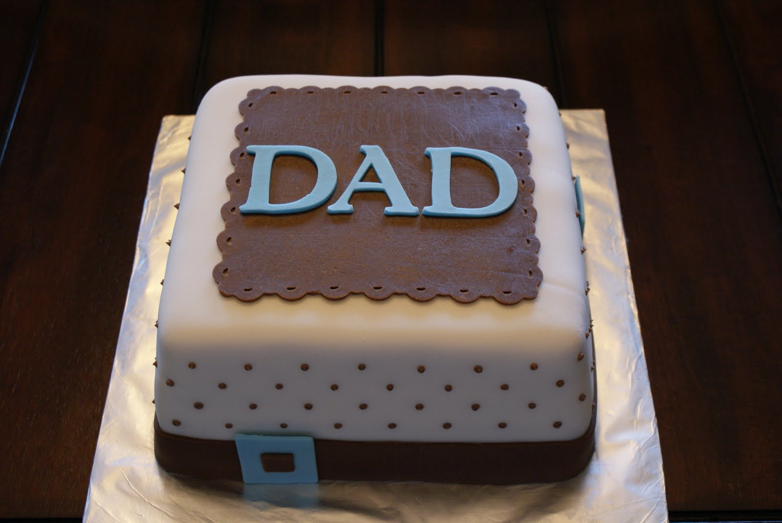 Cake Design For Father : three kids in the kitchen: father s day cake