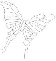 бабочка из бумаги +для детей