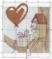 схема вышивки ко дню всех влюблённых