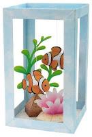 рыбки из бумаги в аквариуме скачать бесплатно