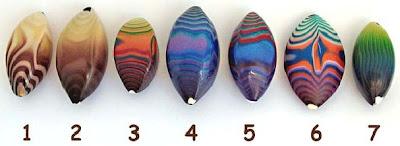 полимерная глина, бусины