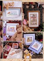 Это - вторая часть статьи с совершенно бесплатными схемами для вышивки медвежат Тедди.  Смотрите также первую.
