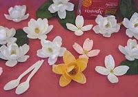цветочки поделки из пластиковых ложечек