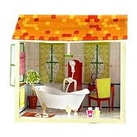 Бумажные домики для кукол