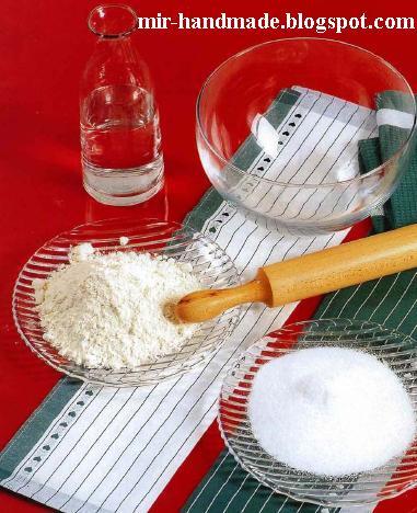 Как делать соленое тесто для поделок - d0