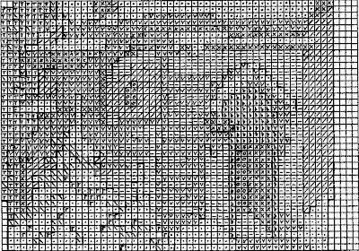 схема вышивки зима бисер