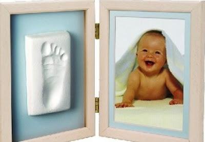 отпечаток ножки малыша
