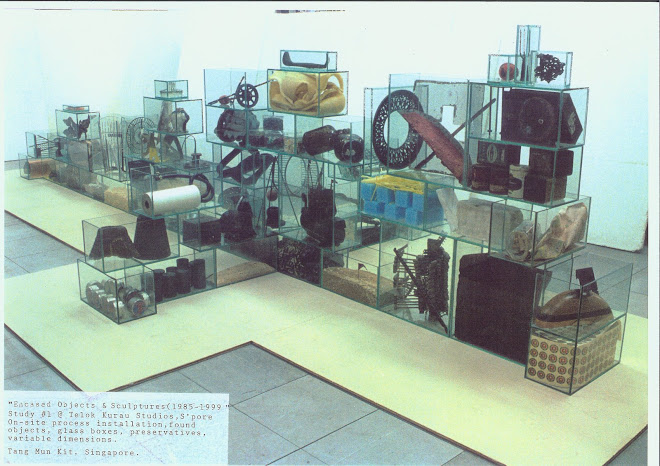 Encased Objects and Sculptures(studio trial run)-1999