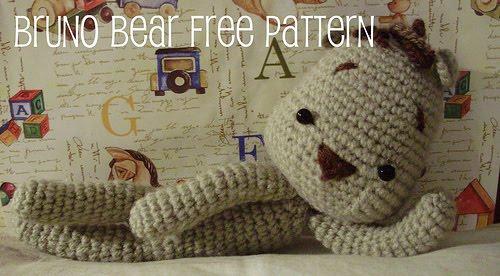 FREE AMIGURUMI PATTERN: Bruno Bear