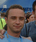 Me at creamfields many years ago