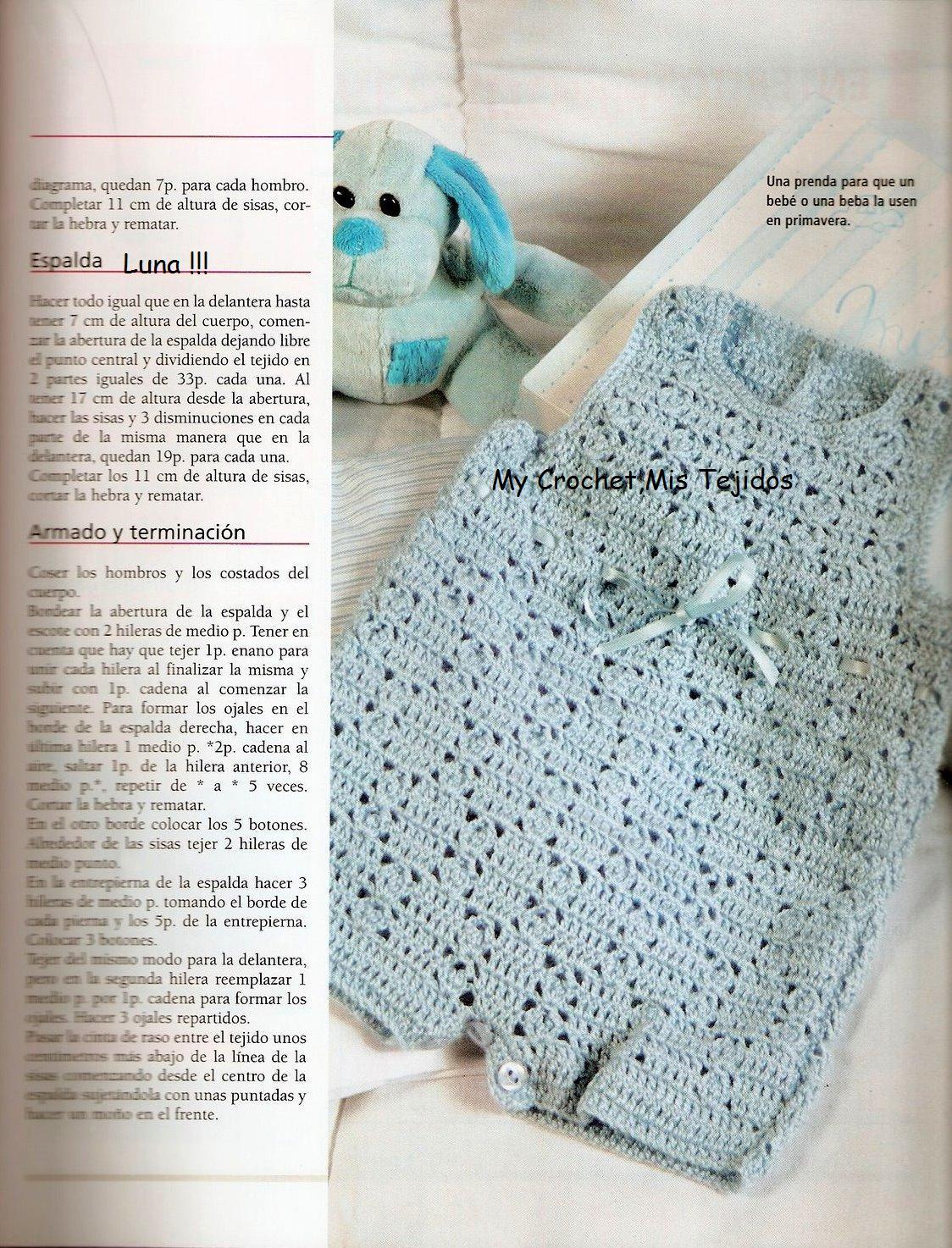 Patrones De Tejidos A Crochet Para Bebes | Review Ebooks