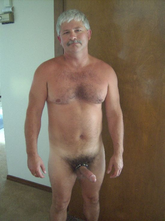 Naked daddy in wood consider