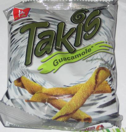 A Bag Of Takis Guacamole I Like The Silver But Chip Or Taco As They Call It On Is Bit Odd Colored