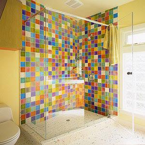 Banheiros simples e lindos
