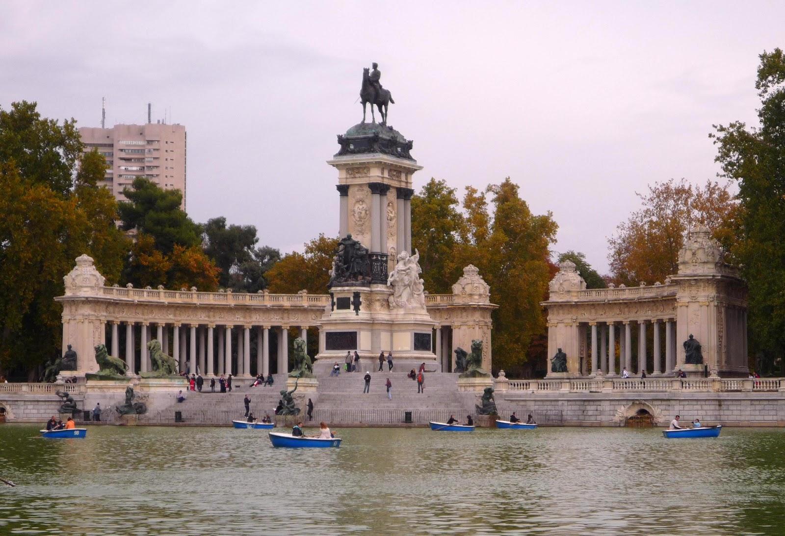 Мадрид круглый год. Осень