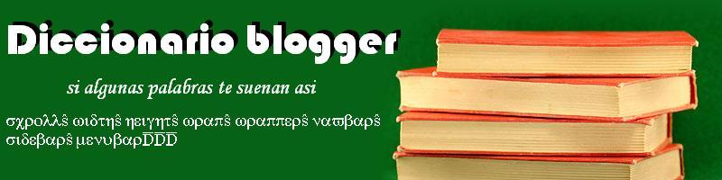 Diccionario blogger