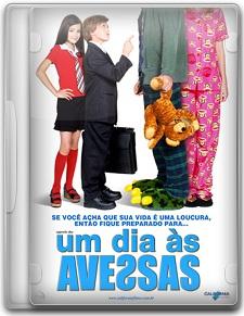 Capa Um Dia às Avessas   DVDRip   Dublado (Dual Áudio)