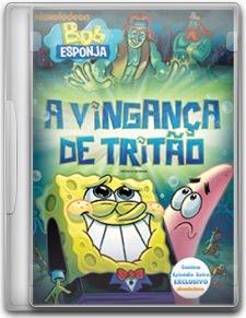 Capa Bob Esponja – A Vingança de Tritão   DVDRip   Dublado