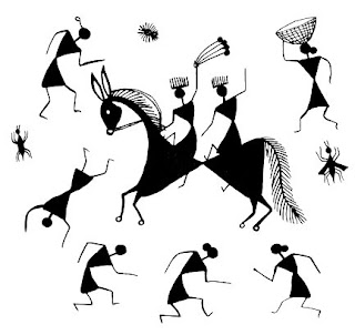 Warli Paintings - Indian handicrafts, Crafts In India