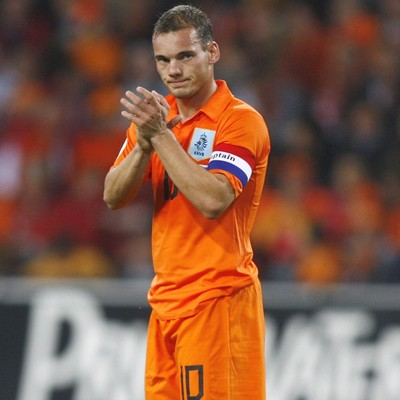 wesley sneijder hair. I THINK WESLEY SNEIJDER