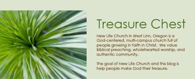 Treasure Chest - a voice of New Life Church in West Linn, Oregon