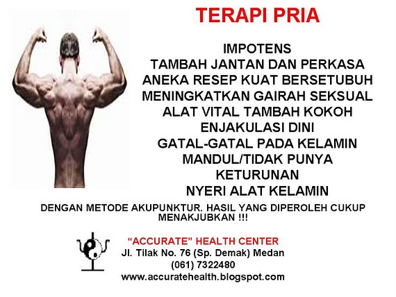 TERAPI PRIA