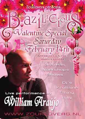 Zouklovers Valentines Special with William Araujo