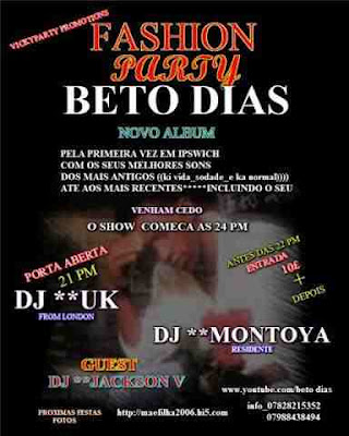 Beto Dias Show and Fashion Party