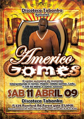Americo Gomes in London - Forest Gate