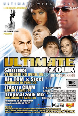 The Ultimate Zouk Weekend with Soumia, Big Tom & STeel, Thierry Cham..