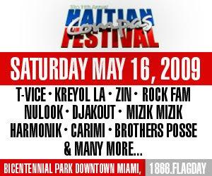 Haitian Compas Festival - T-Vice, Kreyol La, Zin, Rock Fam, Nu Look, Mizik Mizik, Harmonik, Carimi, Brothers posse & more