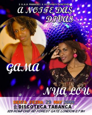 Zouk divas night with Gama and Nya Lou - London
