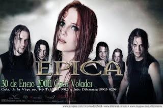 Epica en México 2011