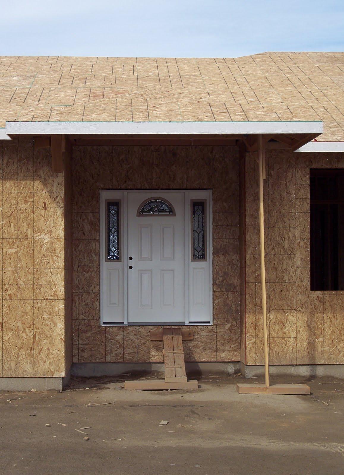 1600 #396192 Front Door Installed pic Front Doors Installed 47011158
