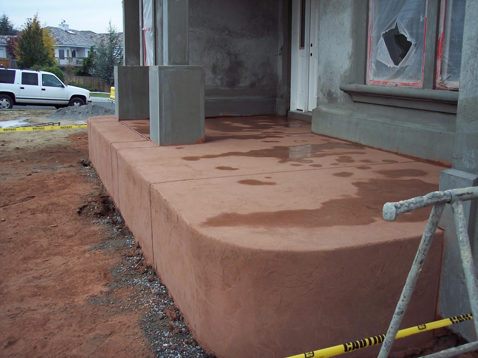 Paint Colors for Concrete Porches