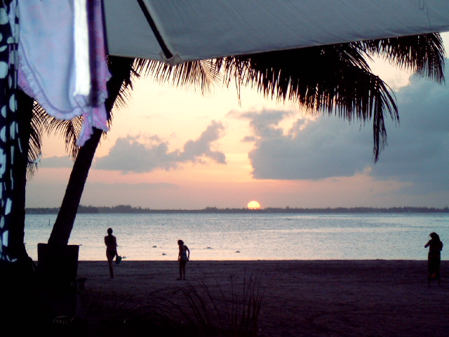Sunset in Luquillo