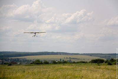 Полет на самолете Бекас (Харьков)