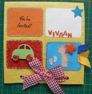 Juhis handmade cards first birthday invitation cards first birthday invitation cards filmwisefo