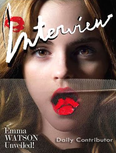 Emma Watson Interview Magazine. A Picture is Worth a Thousand