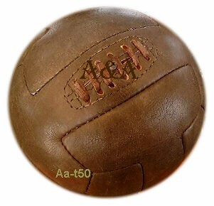 Old Fashioned Leather Football