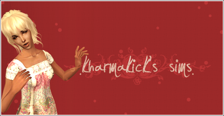 kharmakick's sims