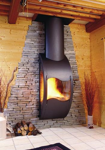 Chimeneas decorativas chimeneas estufas radiadores - Decoracion de chimeneas modernas ...