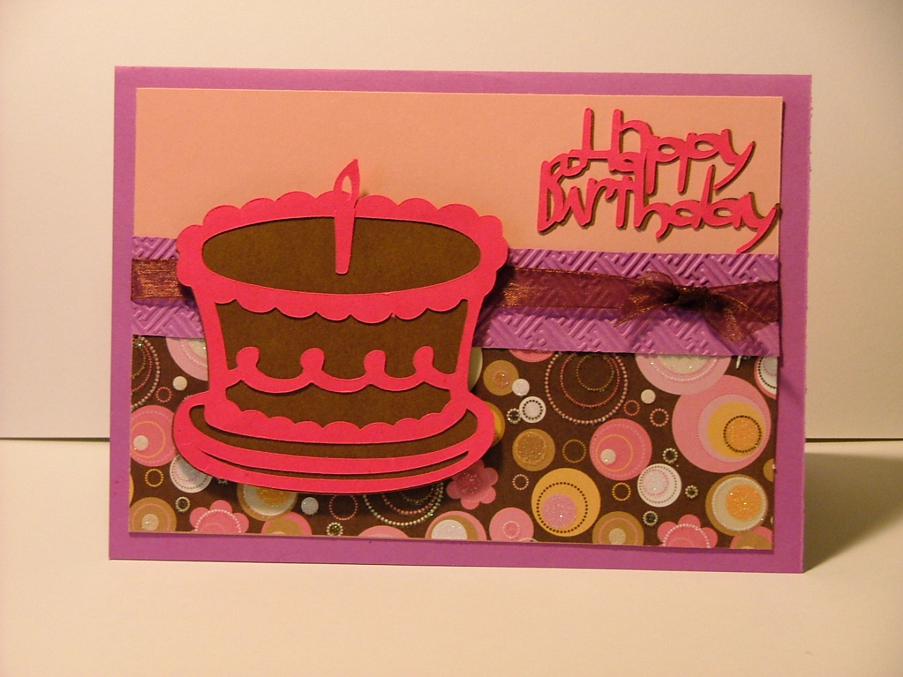 Scrapbook Cards And Crafts Birthday Card Stretch Your